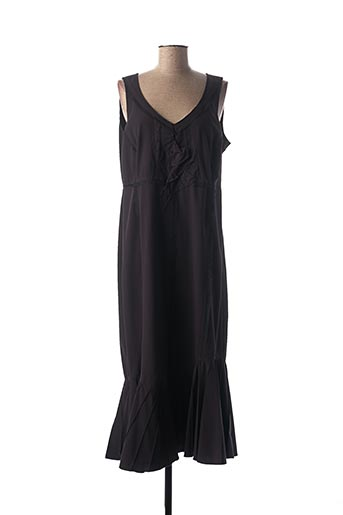 Robe longue violet ALAIN WEIZ pour femme