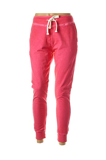 Jogging rose FRENCH TERRY pour femme