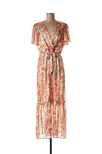 Robe longue rose BELLERINA pour femme