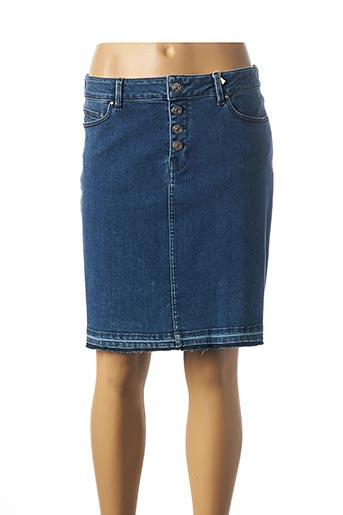 Jupe courte bleu C'EST BEAU LA VIE pour femme