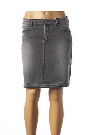 Jupe courte gris C'EST BEAU LA VIE pour femme