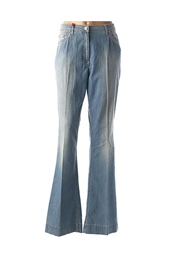 Pantalon casual bleu MARINA RINALDI pour femme