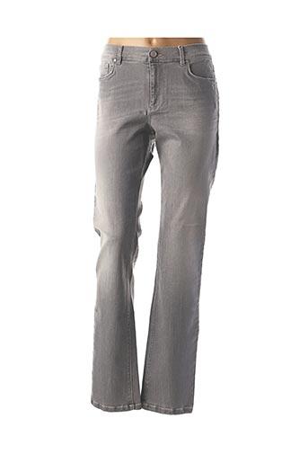 Pantalon casual gris MARINA RINALDI pour femme
