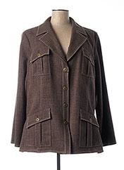 Veste chic / Blazer marron WEILL pour femme seconde vue