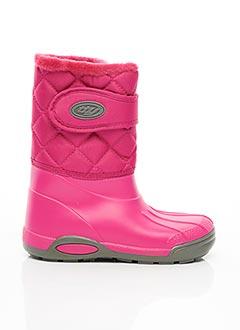 Bottes rose TTY pour fille