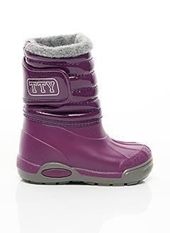 Bottes violet TTY pour fille