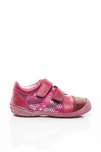 Baskets rose GBB pour fille