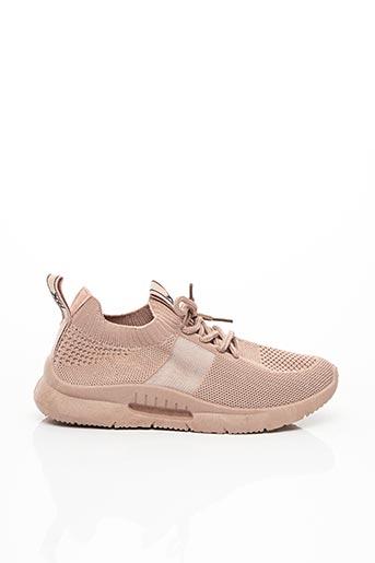 Baskets rose XTI pour fille