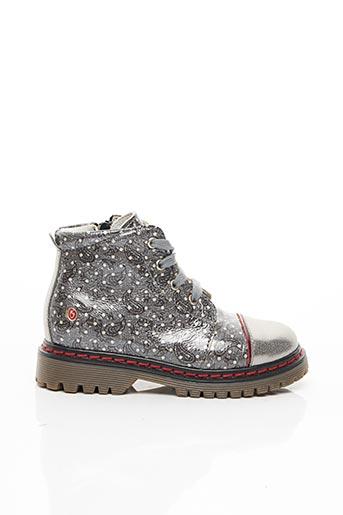Bottines/Boots gris GBB pour fille