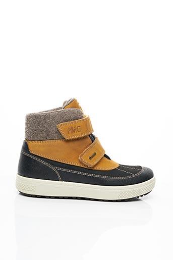 Bottines/Boots jaune PRIMIGI pour garçon