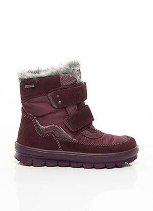 Bottines/Boots rouge SUPER FIT pour fille