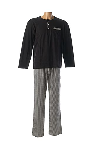 Pyjama noir CHRISTIAN CANE pour homme