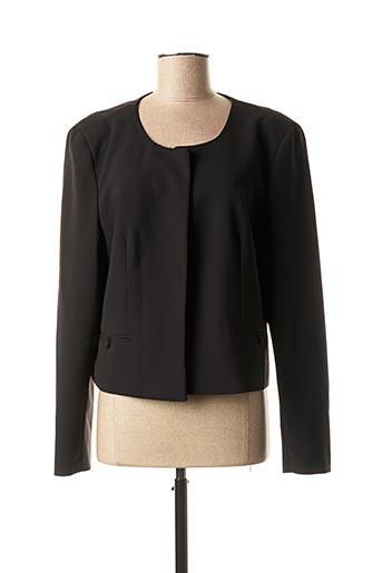 Veste casual noir 1 2 3 pour femme