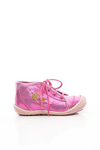 Baskets rose MOD8 pour fille