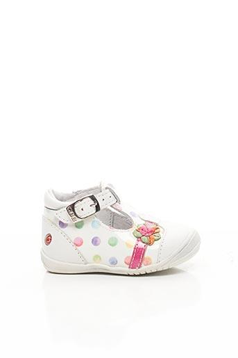 Sandales/Nu pieds blanc GBB pour fille