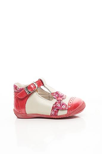 Sandales/Nu pieds rouge GBB pour fille