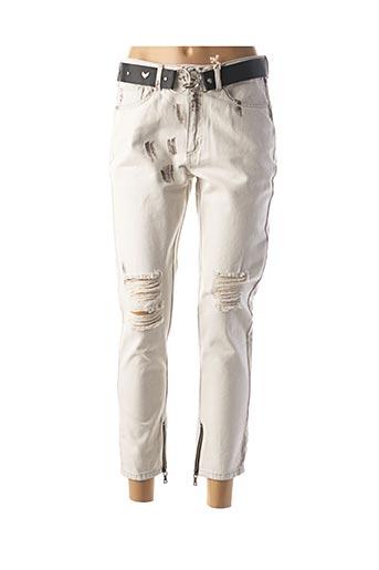 Pantalon casual gris BSB pour femme