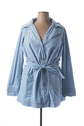 Imperméable/Trench bleu CONCEPT K pour femme