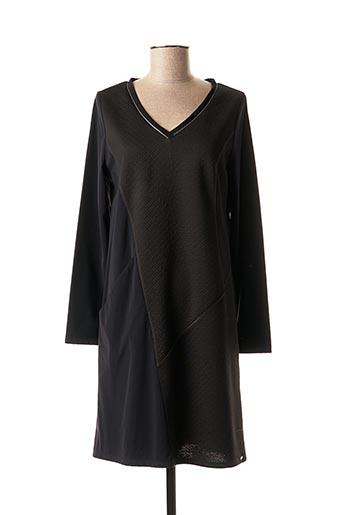 Robe mi-longue noir DECA pour femme