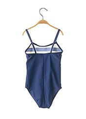 Maillot de bain 1 pièce bleu LAGON BLEU pour fille seconde vue