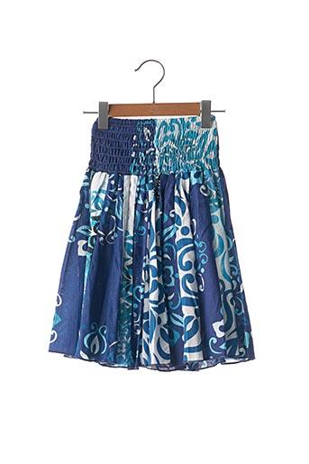 Jupe mi-longue bleu ALLER SIMPLEMENT pour fille