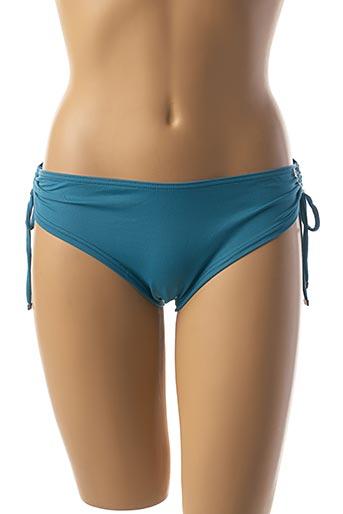 Bas de maillot de bain bleu LES P'TITES BOMBES pour femme