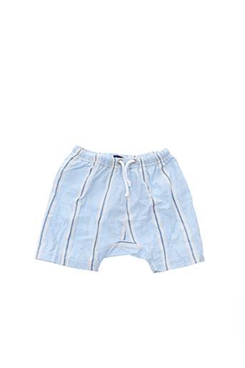Short bleu ARCHIMEDE pour garçon