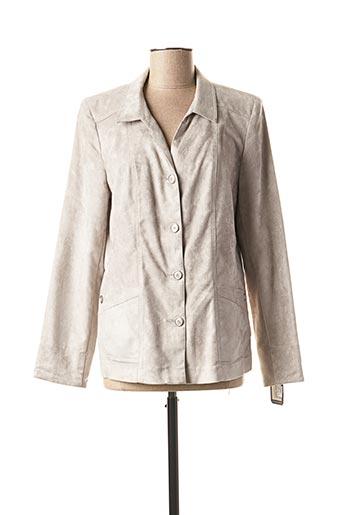 Veste casual gris ANNE KELLY pour femme