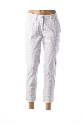 Pantalon 7/8 blanc IMPAQT pour femme