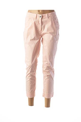 Pantalon 7/8 rose IMPAQT pour femme