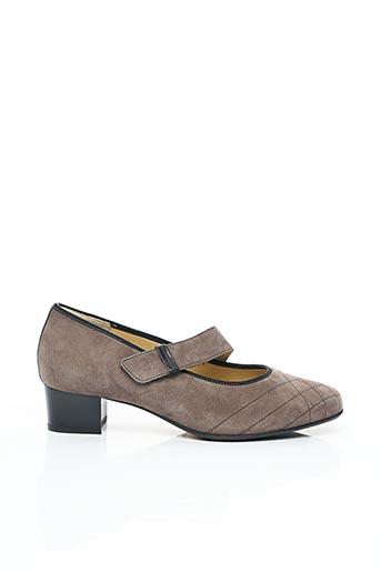 Chaussures de confort gris HASSIA pour femme