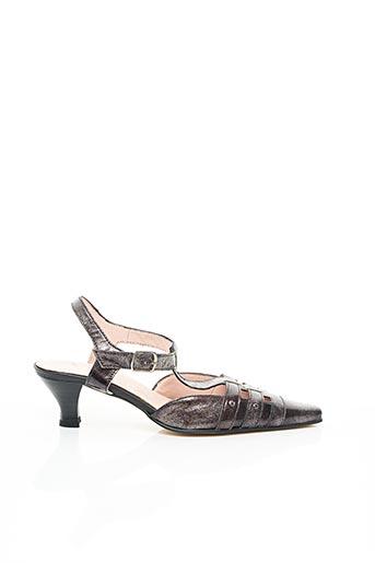 Sandales/Nu pieds gris ELANTINE pour femme