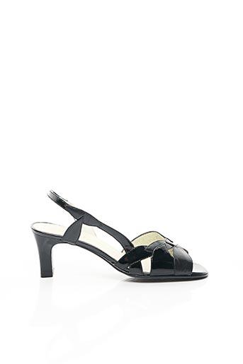Sandales/Nu pieds noir CARLINE pour femme