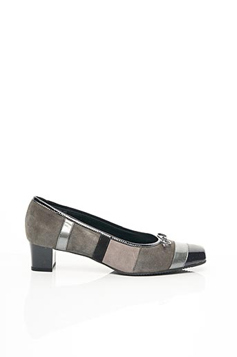 Escarpins gris ALEXANDRIA pour femme