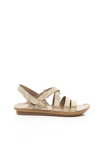Sandales/Nu pieds beige CLARKS pour femme