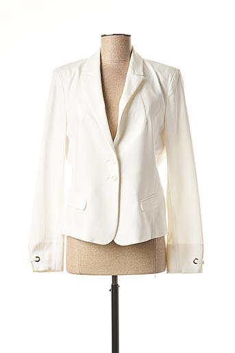 Veste chic / Blazer blanc EVA KAYAN pour femme