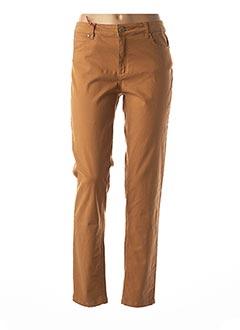 Pantalon casual marron BEST MOUNTAIN pour femme