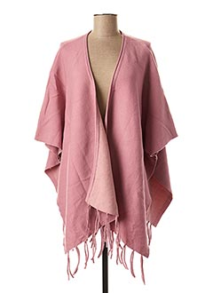 Poncho rose SO SWEET pour femme