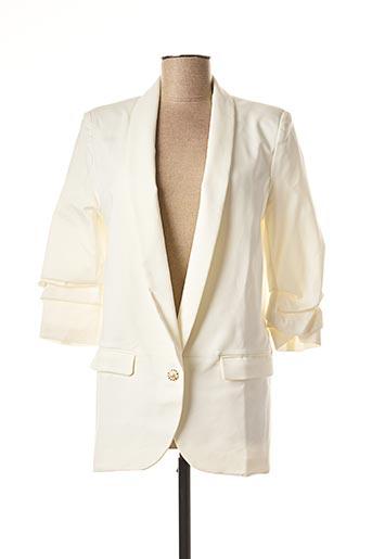 Veste chic / Blazer blanc FREESIA pour femme