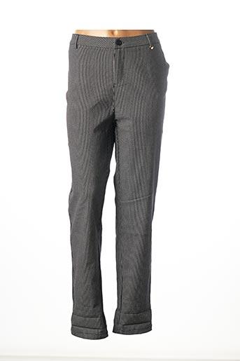 Pantalon casual noir FREESIA pour femme