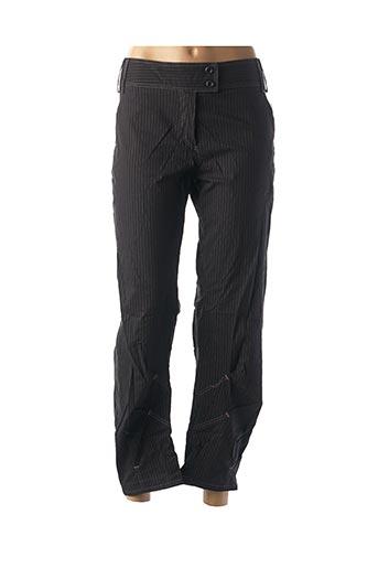 Pantalon casual noir FEMMES JE VOUS AIME pour femme
