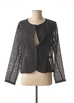 Veste chic / Blazer noir FELINO pour femme