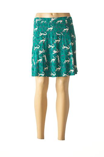 Jupe courte vert SURKANA pour femme