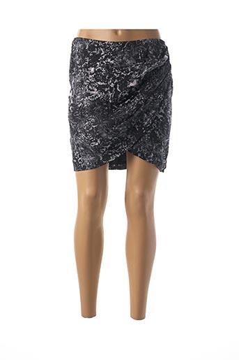 Jupe courte noir MAISON SCOTCH pour femme