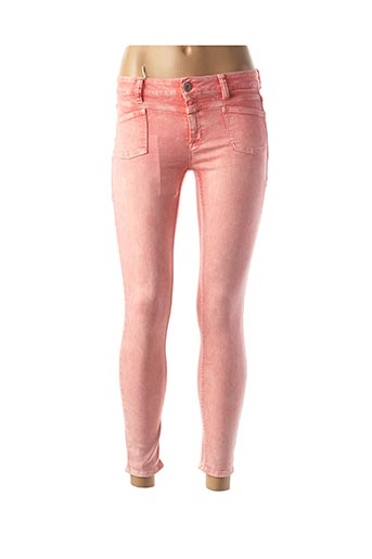 Jeans skinny rose CLOSED pour femme