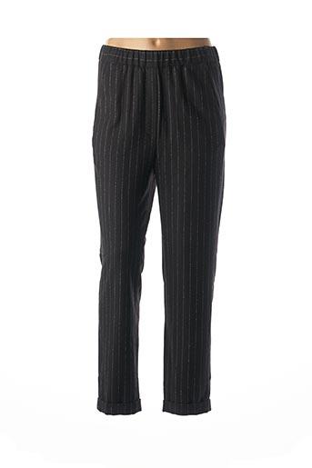 Pantalon 7/8 noir DIEGA pour femme