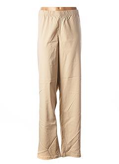 Pantalon casual beige CISO pour femme