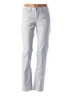 Pantalon casual bleu CMK pour femme