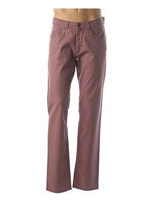 Pantalon casual rose BRÜHL pour homme