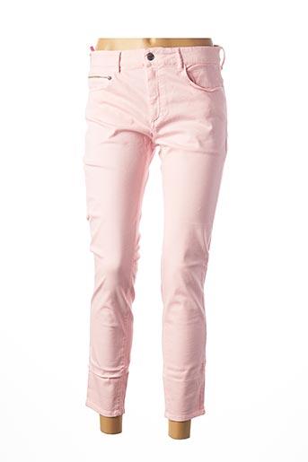 Pantalon 7/8 rose COUTURIST pour femme